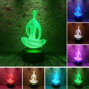 Luminária Yoga - 3D