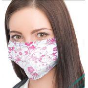 Máscara Descartável Tripla c/ Elástico - Estampada