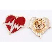 Pin - Broche Coração Eletro