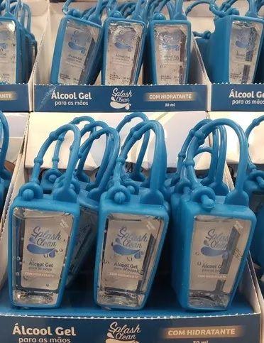 Dispenser / Chaveiro para Álcool Gel