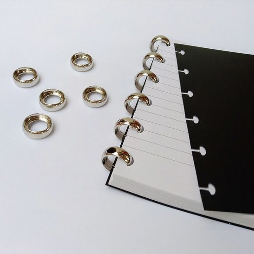 Argolas para Caderno Inteligente - C/8un - Pequena