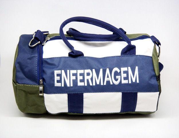 BOLSA BORDADA - ENFERMAGEM