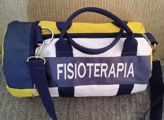 BOLSA BORDADA - FISIOTERAPIA
