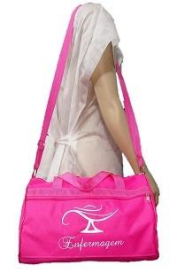 Bolsa Grande Enfermagem - Pink/Roxa