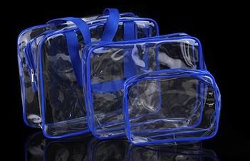 Bolsas Transparente - Conjunto com 3 tamanhos