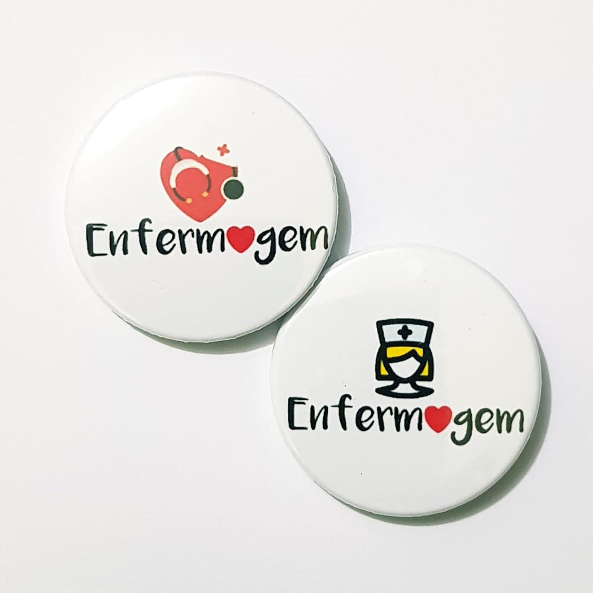 Bottons - Enfermagem - C/2