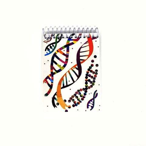 Caderneta - Dupla fita de DNA