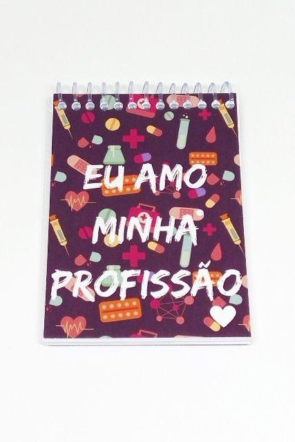 Caderneta - EU AMO MINHA PROFISSÃO