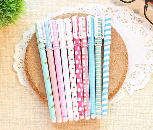 Caneta - Escrita Colorida - Kit com 10 canetas