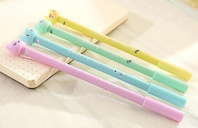 Caneta -  Gatinhos -  Kit com 4 canetas