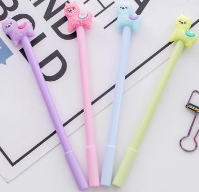 Caneta -  Lhama -  Kit com 4 canetas