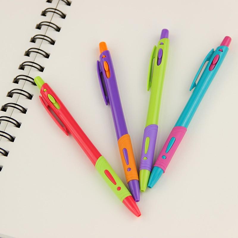 Caneta - Modelo Life - Kit com 4 canetas