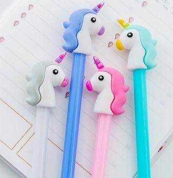 Caneta - Unicórnio - kit com 2 canetas