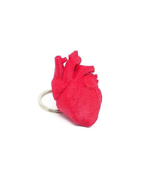 Chaveiro 3D - Coração / Cérebro
