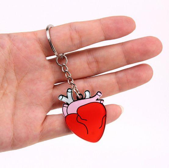 Chaveiro Coração - Acrílico