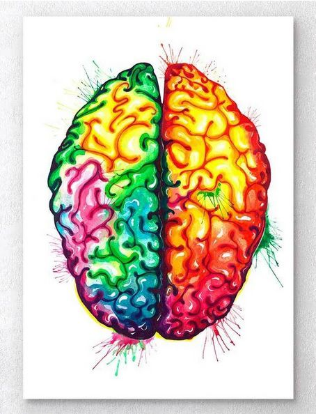 Gravura - Cérebro II