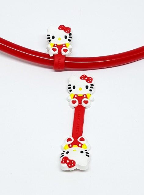 Enfeite para Estéto - Hello Kitty - vermelho