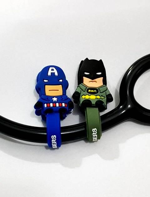 Enfeite para Estéto - Coleção Super Heróis - pq