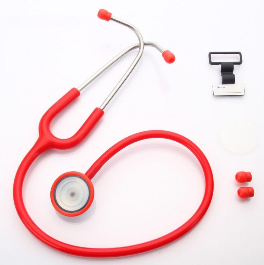 Estetoscopio Cardio - Olivas Na Mesma Cor