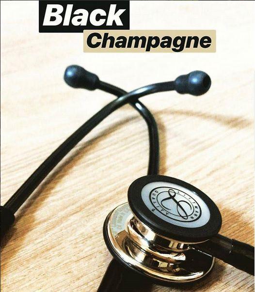 Estetoscópio Littmann Classic III Black / Champagne - 5861