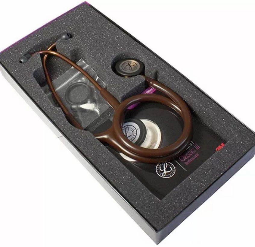 Estetoscópio Littmann Classic III Chocolate / Copper Finish 5809 3M