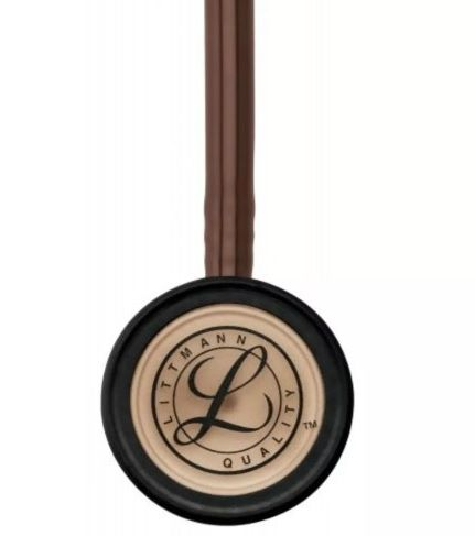 Estetoscópio Littmann Classic III Chocolate / Copper Finish 5809 3M + Bling Rose Gold + Lanterna