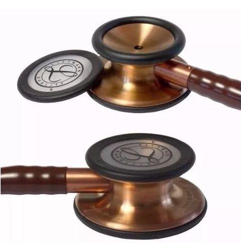 Estetoscópio Littmann Classic III Chocolate / Copper Finish 5809 3M + Bling Angel
