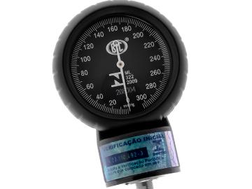 Kit Aparelho de Pressão + Estetoscópio Duosson BIC + Relógio + Garrote - Várias cores
