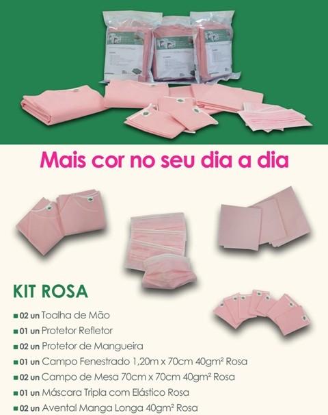 Kit Cirúrgico Rosa