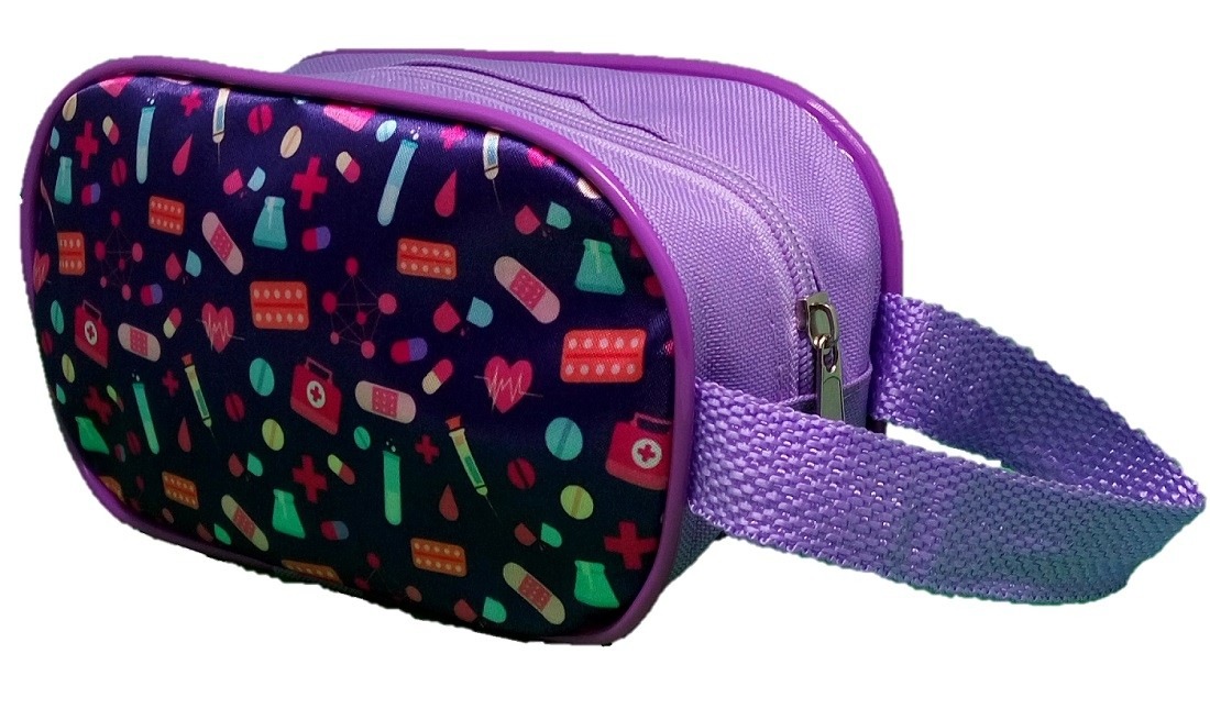 KIT COOL LILAC BOLSA TRANSPARENTE