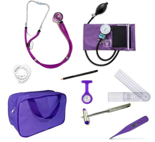 Kit Fisioterapia - PAMED  - Roxo