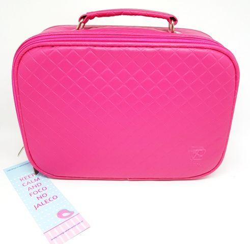 Maleta - Matelassê Pink - Pinton