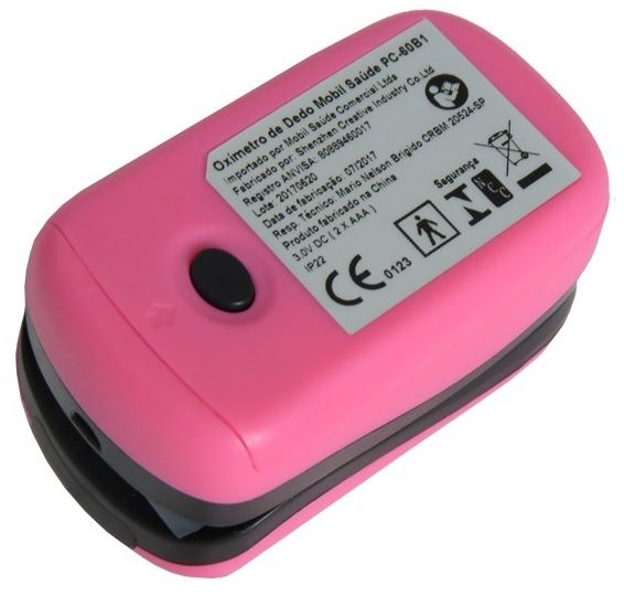 Oxímetro - MOBIL - Rosa - Anti-Queda