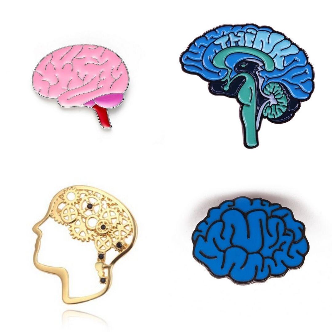 Pin / Broche Coleção Cérebro