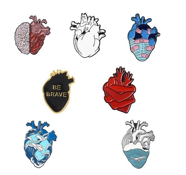Pin / Broche - Coleção Coração