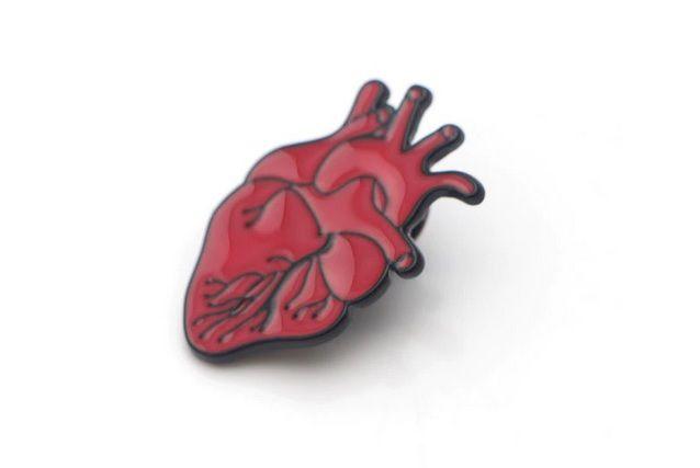 Pin / Broche - Coração All Red