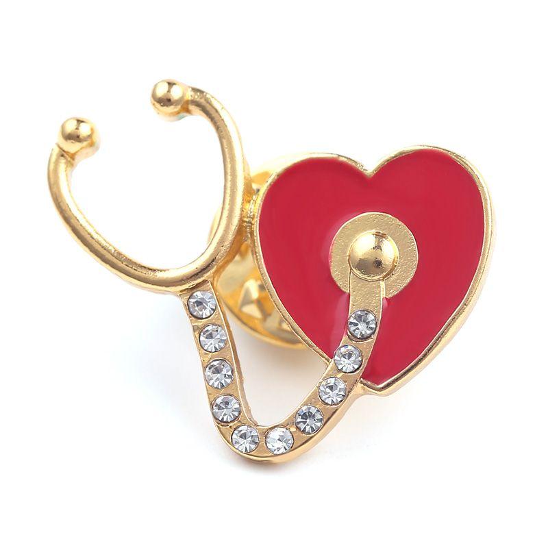Pin / Broche Coração + Estéto