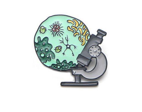 Pin / Broche Microscópio