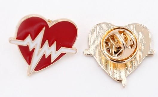 Pin Coração Eletro