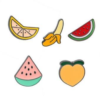 Pin - Frutas - Conj com 5 unidades