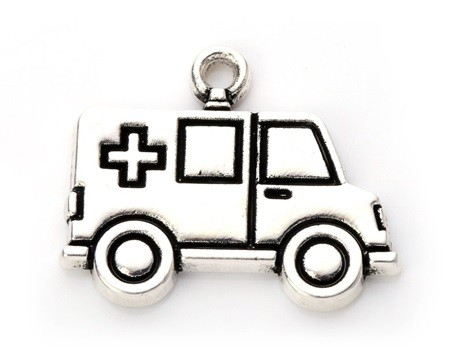 Pingente Ambulância