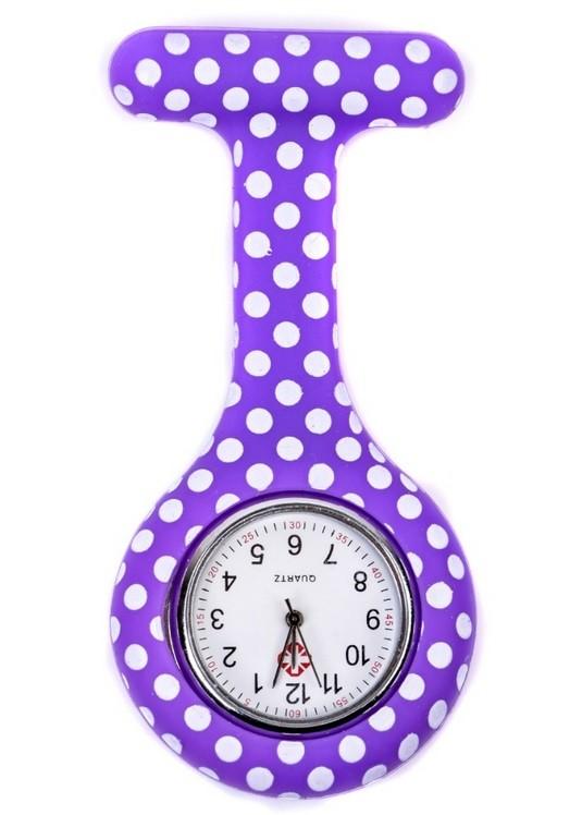 Relógio Estampado - Poá Várias Cores