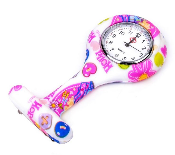 Relógio p/ Jaleco Estampado - Holly