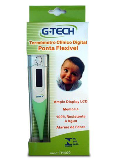 Termômetro Clínico Digital  - Ponta Flexível - Gtech