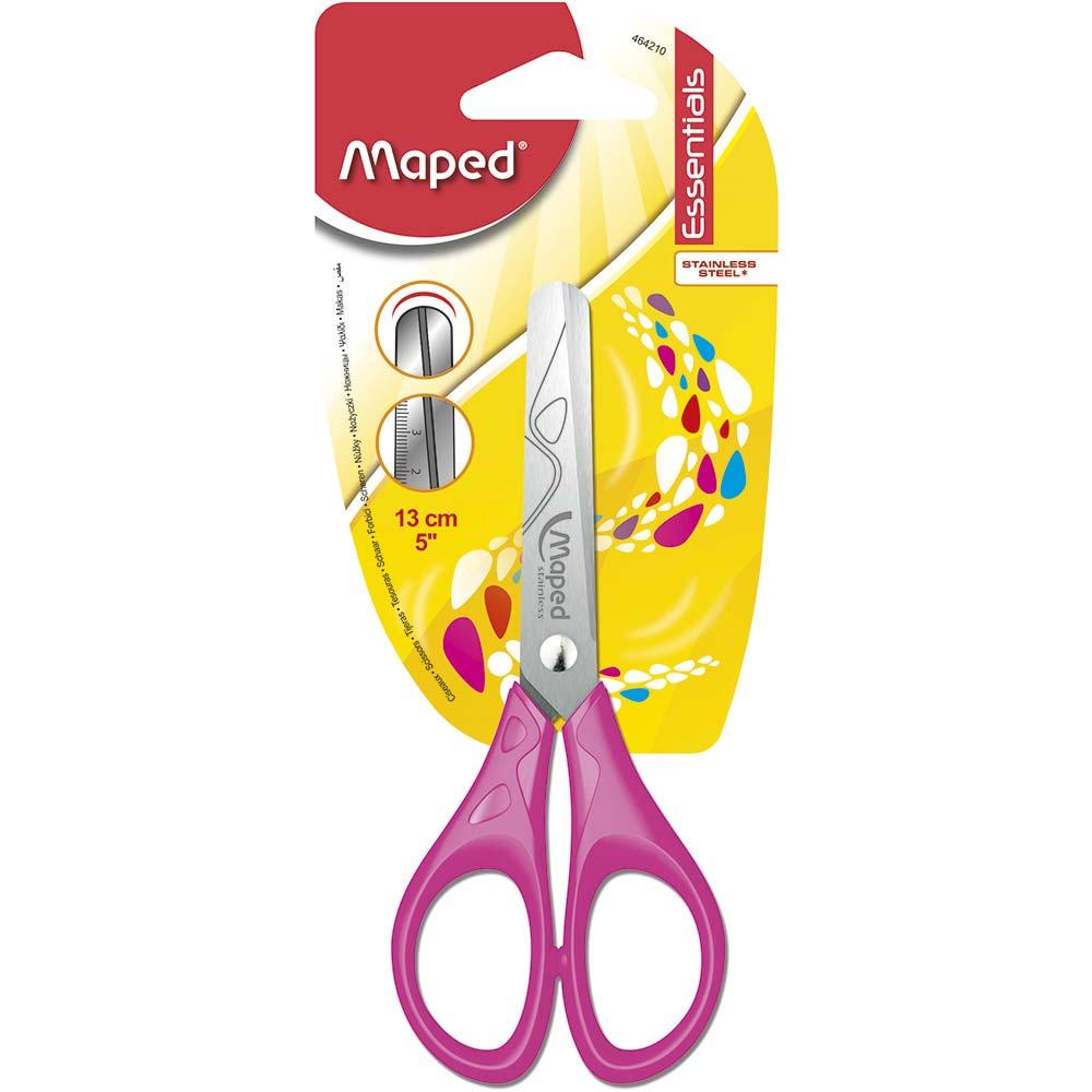 Tesoura 13cm Essentials - Rosa