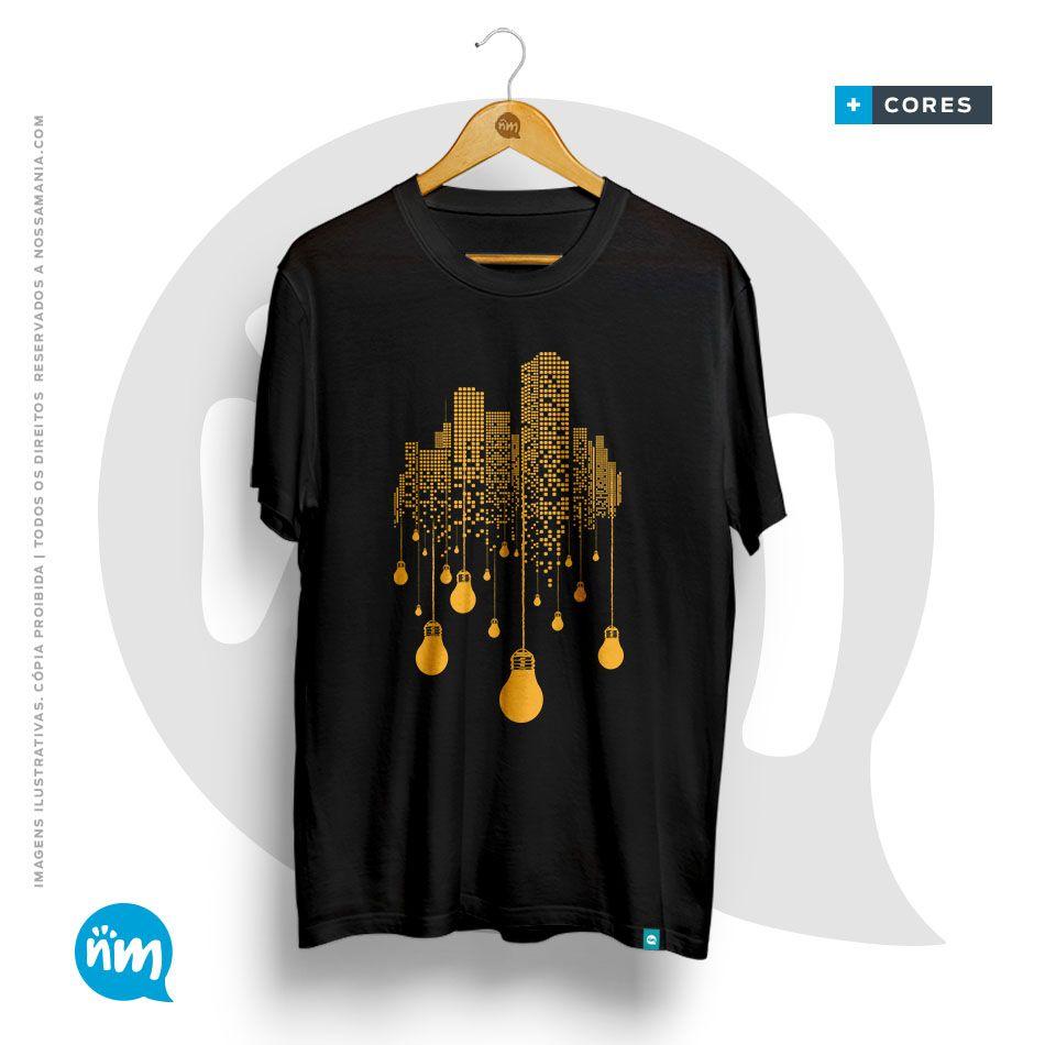Camiseta Arquitetura Prédios
