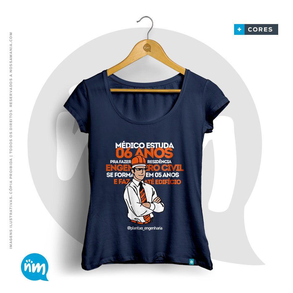 Camiseta Civil é Melhor que Medicina