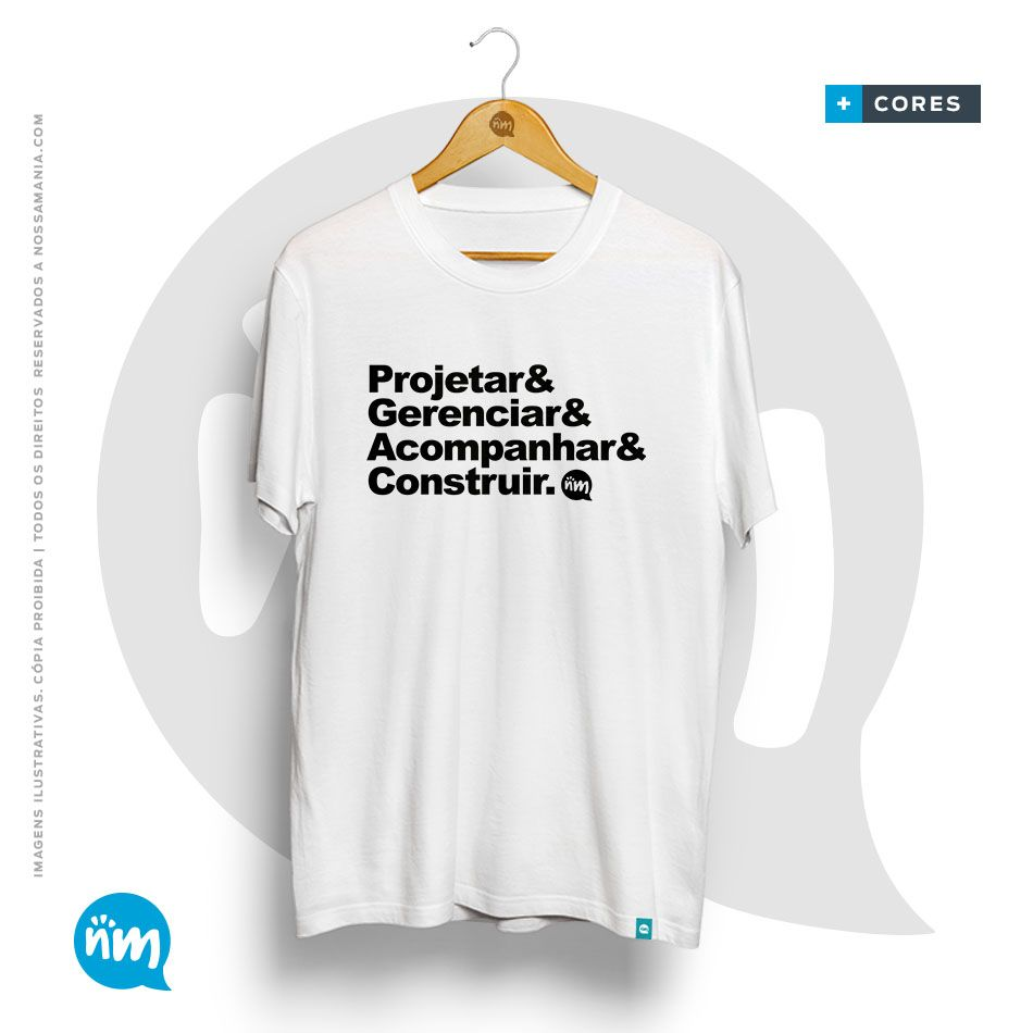 Camiseta Civil Projetar&