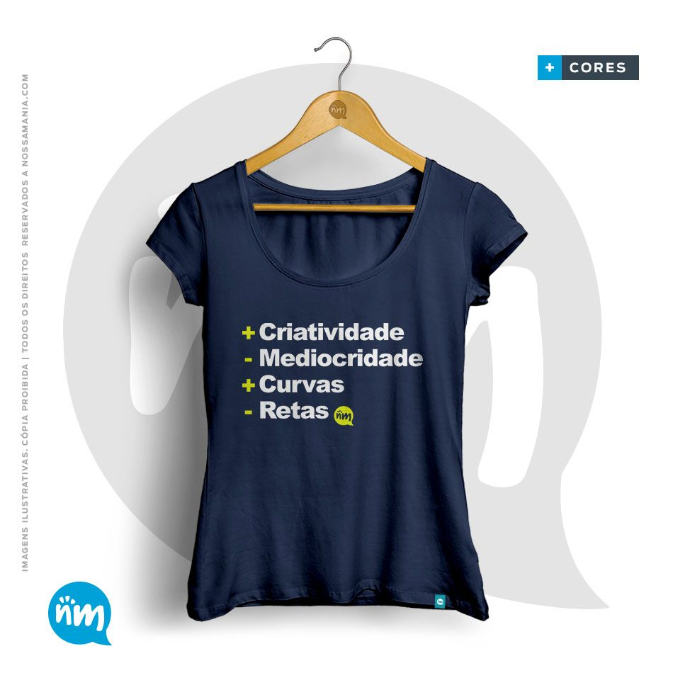 CAMISETA DE ARQUITETURA: + Criatividade