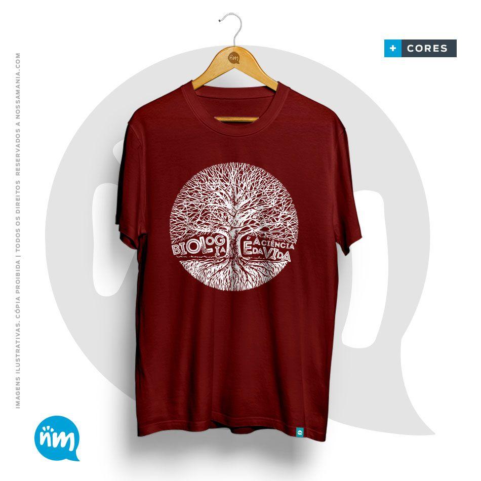 Camiseta de Biologia